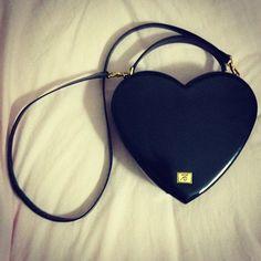 Photo by sbebs      #moschino #mymoschino #bag #heart