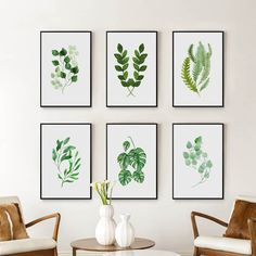 picture wall ideas Nordic Art Spring Green Plant Leaf Watercolor Poster Canvas Painting Art Print Pictures Wall For Living Room Home Decor Canvas Art Prints, Canvas Wall Art, Leaf Wall Art, Plant Painting, Painting Art, Online Painting, Watercolour Painting, A4 Poster, Nordic Art
