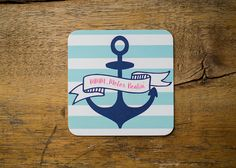 MMM...Motor Boatin'   Set of 10 Nautical by KellyElliottCreative