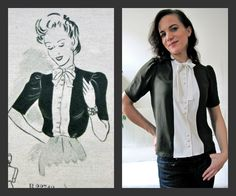 Of Dreams and Seams: Original Vintage Refashion!