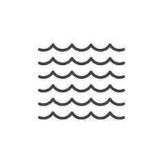 Drawing Block, Wave Drawing, Sea Logo, Water Symbol, Wave Illustration, Waves Icon, Waves Line, Waves Vector, Water Logo