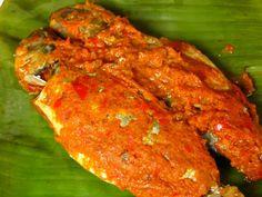 Indonesian Food. Pepesan (Recipe in Dutch)