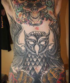 Mitch Lucker's tattoos