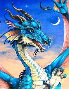 Fantasy and Sci-fi at their best. Magical Creatures, Fantasy Creatures, Fantasy Dragon, Fantasy Art, Dragon Cross Stitch, Dragon Sketch, Beautiful Dragon, Dragon's Lair, Dragon Artwork