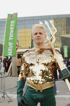 Aquaman @ New York Comic Con 2012 (NYCC).