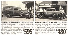 """1935 Dodge Truck - you can not even get a """"dog house"""" for that now"""
