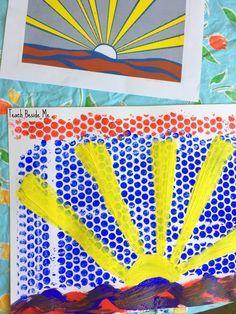 Lichtenstein Artist study- bubble wrap art (scheduled via http://www.tailwindapp.com?utm_source=pinterest&utm_medium=twpin&utm_content=post137748255&utm_campaign=scheduler_attribution)