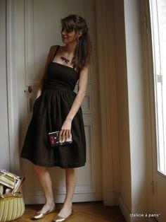 Cute Dress from Burda 11-2010  Also love the foxy necklace