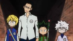 Hunter x Hunter 08 – It's Not Called the Trick Tower for Nothing ...