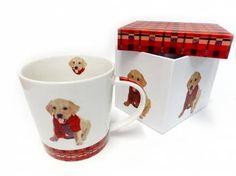 Tiermotiv TassenHunde Motiv Tasse: Monty - Labrador, Tasse mit Box