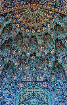 Saint Petersburg Mosque. 1913. St. Petersburg, Russia. Nikolai Vasilyevich Vasilyev.
