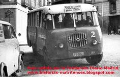 1960s Camioneta de la Línea Periférica Plaza de Ramales-Plaza de España-Barrio del Lucero