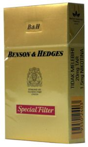 benson and hedges cigarettes -