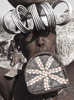 woman mursi HDR. Omo valley. Ethiopia | Flickr - Photo Sharing!