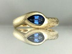 Deep Sea Bubbles and Wake Ring - Jeanette Walker Jewellery Sapphire Diamond Engagement, Pink Sapphire Ring, Custom Jewelry Design, Rutilated Quartz, Designer Engagement Rings, Vintage Diamond, Gemstone Jewelry, Diamond Jewelry, Ring Designs