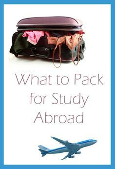When I was packing to study abroad for a semester, I had a pretty hard time deciding what to pack and what not to. How do I fit three months of clothes into two suitcases and two carry-ons? You don't. As Teen Vogue says, just pack basics that will be...
