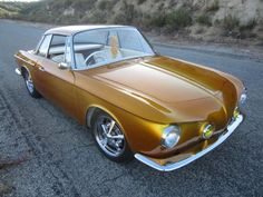I have never cared for the color Gold on a car, but this is the first … WOW …. just stunning !