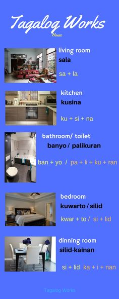 SpeaK Tagalog about house. Tagalog Words, Tagalog Quotes, Filipino Words, Grammar Tips, Filipino Culture, Filipino Tattoos, World Languages, English Dictionaries, Learn English Words