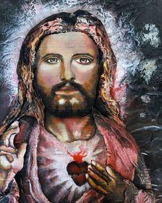 #messiah #Yeshua #adamamos #propheticartist Mona Lisa, Artwork, Artist, Painting, Art Work, Work Of Art, Auguste Rodin Artwork, Painting Art, Paintings