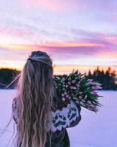 Dere, Beautiful Pictures, Dreadlocks, Long Hair Styles, Beauty, Instagram, Norway, Needlework, Country