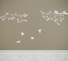 bird wall decal.