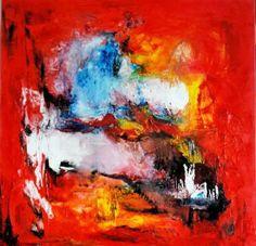Metaphore Peinture à l'huile sur toile de coton