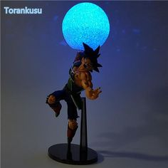 Dragon Ball Z Action Figure Burdock SC Led Light DIY Display