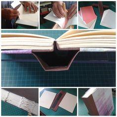 Encuadernación estructura SBB (Sewn Board Binding). 6 pulg x 7 1/2 pulg, 264 pág.papel Offset editorial. Cubierta lomo Percalina, planos tela hilo algodón.