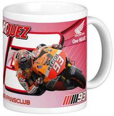 Mug Marquez - MotoGP Series MM93   Serukan nonton MotoGP dengan ditemani minum dari mug cetak bermotif pembalap kesayanganmu. Lengkapi koleksinya sebagai penggemar sejati MotoGP.