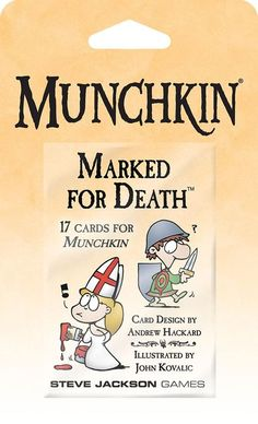 Munchkin Marked for Death Blister Pack