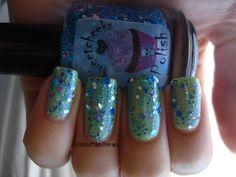 Cumulus Granitus - www.intensepolishtherapy.ca Swatch, Shots, Polish, Nail Art, Nails, Finger Nails, Vitreous Enamel, Ongles, Nail Polish