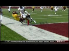 ▶ Physics of Football - YouTube - How many Gs of force are experienced in a football collision.