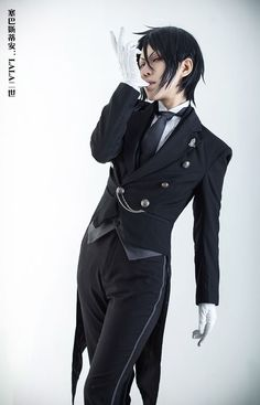 LALAax(LALA二世) Sebastian Michaelis Cosplay Photo - WorldCosplay - COSPLAY IS BAEEE!!! Tap the pin now to grab yourself some BAE Cosplay leggings and shirts! From super hero fitness leggings, super hero fitness shirts, and so much more that wil make you say YASSS!!!