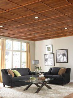Wohnzimmer Einrichten Kochinsel Kche Holzdecke Lampe