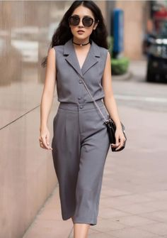 damvayxinh.net - Set bộ áo vest quần suông cao cấp