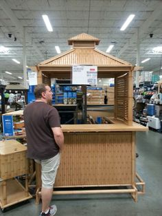Outdoor Aluminum Tiki Hut Perfect Poolside Size At Bjs 800 00 650 On Inside Shelving