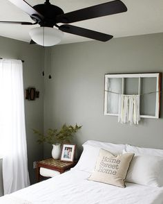 "benjamin moore intellectual gray - Bobby Berk loves this hue because it's ""filled with depth. Its warm tones create the perfect setting for any room."""