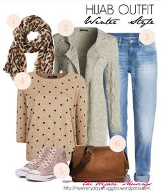 Hijab Outfit Idea - Winter Rugged Style Hijabis are not spared from prepping up their wardrobe for winter season. Check out this hijab outfit perfect for a rugged winter look.