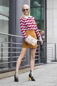 'Vintage', clásica, deportiva, 'femme fatale', futurista... Durante la semana de la moda de Londres, la ciudad se ha transformado en un hervidero de tendencias y colores (todavía más si cabe). Y sí,...