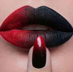 Maquiagem: ombré lips batom em degradê