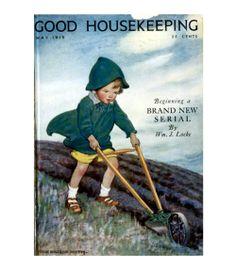 Good Housekeeping magazine cover, May 1919 Jessie Willcox Smith