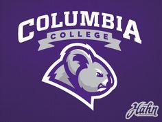 Columbia college profile logo dribbble