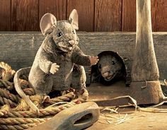 Brown Mouse Puppet at theBIGzoo.com, a family-owned gift shop with 12,000+ animal-themed items.