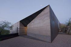Wendell Burnette, desert courtyard house, Construction Zone