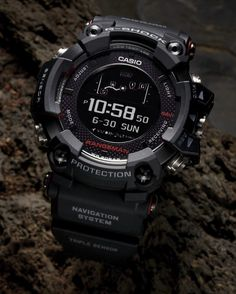 1407f347759f Casio´s new G-Shock is a Solar-Powered GPS Watch! The G-Shock Rangeman  features the world s first solar-assisted GPS navigation.