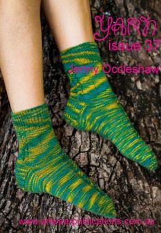 Sock Yarn, Knitting Designs, Knit Crochet, Socks, Bring It On, Pairs, Magazine, Pattern, Knitting Projects