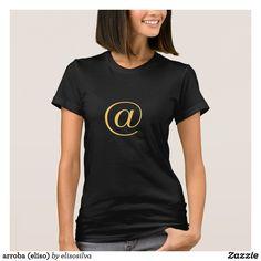 arroba (eliso) camiseta