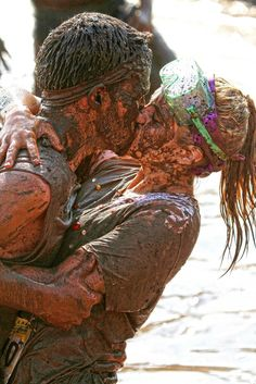Mud run? I think so. I wanna do this with my future boyfriend! Girlfriend Goals, Boyfriend Goals, Future Boyfriend, Boyfriend Stuff, Boyfriend Pictures, Country Couples, Country Couple Pictures, Country Prom, Country Quotes