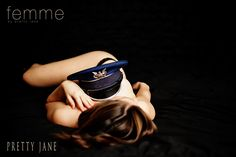 Cool photo, but all I could think was, I'd need two hats! hehe--- Pretty Jane Boudoir