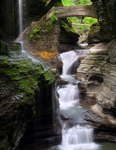 Rainbow Falls [Watkins Glen State Park, New York]